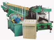 Z section steel production line
