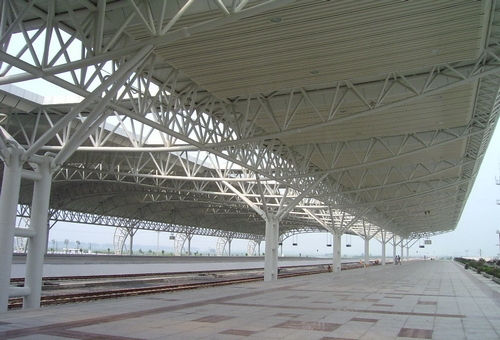 Steel Structural Railway Station