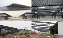 Steel Structure Logistics Warehouse for Hisense