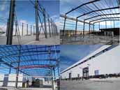 Steel Structure Portal Frame Warehouse for Algeria