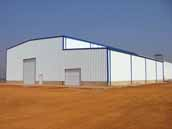 Prefab Light Steel Structure Warehouse Building to Angola