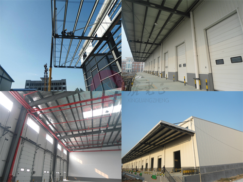 Prefab Steel Warehouse for Logistic Storage