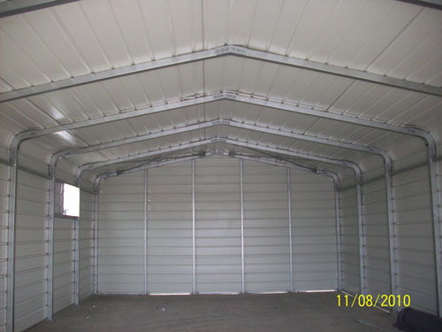 inside picture of garage/carport exported to Holland