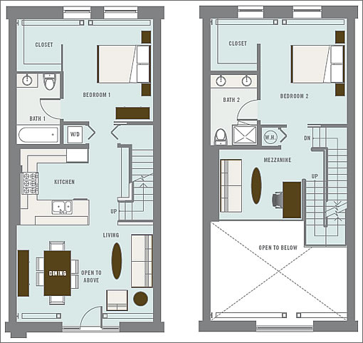 layout plan of container house